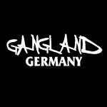 CI - Aufkleber Gangland Germany 20x7cm