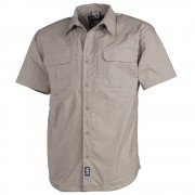 "MFH - 02313F High Defence Hemd, ""Strike"" Outdoor Hemd, kurzarm, beige, Teflon T400, Rip Stop, 2 Brusttaschen"