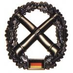 """MFH - 36021C BW Barettabzeichen, """"Artillerie"""", Metall"""