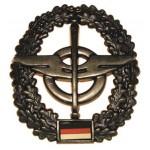 """MFH - 36021G BW Barettabzeichen, """"Nachschub"""", Metall"""