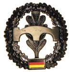 """MFH - 36021H BW Barettabzeichen, """"Pioniere"""", Metall"""