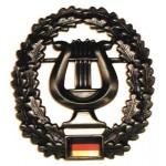 """MFH - 36021K BW Barettabzeichen, """"Musikkorps"""", Metall"""