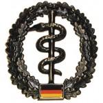 """MFH - 36021L BW Barettabzeichen, """"Sanitäter"""", Metall"""