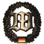 """MFH - 36021N BW Barettabzeichen, """"Wachbatallion"""", Metall"""