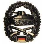 """MFH - 36021O BW Barettabzeichen, """"Panzergrenadier"""", Metall"""