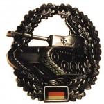 """MFH - 36021T BW Barettabzeichen, """"Panzertruppe"""", Metall"""