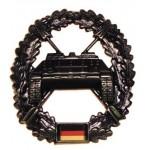 """MFH - 36021V BW Barettabzeichen, """"Panzerjägertruppe"""", Metall"""
