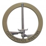 "MFH - 36041B BW Barettabzeichen, ""1. NL/D-Corps"", Metall"
