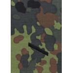 MFH - 36111A BW Rangschlaufen, Gefreiter, flecktarn, schwarz bestickt