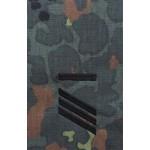 MFH - 36111G BW Rangschlaufen,Hauptgefr.UA, flecktarn, schwarz bestickt