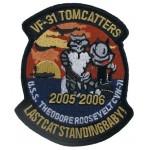 """MFH - 36301B Stickabzeichen, """"VF-31 TOMMCATTERS"""""""