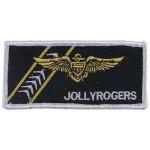 "MFH - 36303A Stickabzeichen, ""VF-103 JOLLY ROGERS"""