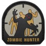 """MFH - 3611A Klettabzeichen, 3D, """"Zombie Hunter"""""""
