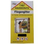 """MFH - 49271A Fliegengitter, """"Wip"""", schwarz, Befestigungsband, 110x130 cm"""