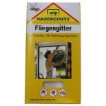 """MFH - 49272L Fliegengitter, """"Wip"""", weiß, Befestigungsband, 130x150 cm"""