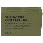 MFH - 40328 Bundeswehr Notration-Verpflegung, 1 Packung 220 g