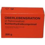 MFH - 40329 Bundeswehr Überlebensration, 1 Pack 200 g, (4 Riegel), 7 % MwSt