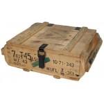 MFH - 627917 Polnische Holzkiste, gebraucht, Gr. innen 36x32x11 cm