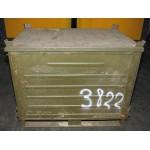 MFH - 627990 CZ/SK Stahlbox, mit Deckel, Gr. 120x80x100 cm, gebraucht
