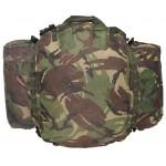 """MFH - 630364 Britischer Rucksack, """"Other Arms"""", Seitentaschen, DPM tarn, gebraucht"""