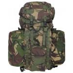"""MFH - 630380 Britischer Rucksack, """"PLCE LONG"""", Seitentaschen, DPM tarn, gebraucht"""