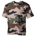 MFH - 00103I US T-Shirt, halbarm, CCE tarn, 160g/m²