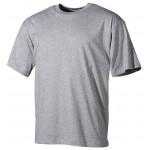 MFH - 00103M US T-Shirt, halbarm, grau, 160g/m²