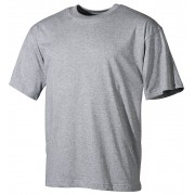 MFH - 00103M US T-Shirt, halbarm, grau, 160g/m² - LAGERWARE