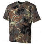 MFH - 00103V BW T-Shirt, halbarm, flecktarn, 160g/m²