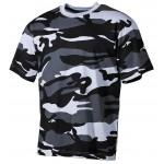 MFH - 00103X US T-Shirt, halbarm, skyblue, 160g/m²