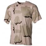 MFH - 00103Z US T-Shirt, halbarm, 3 Farben desert, 160g/m²