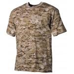 MFH - 00104A US T-Shirt, halbarm, digital- desert, 170g/m²
