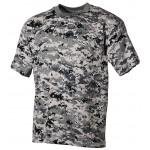 MFH - 00104B US T-Shirt, halbarm, digital- urban, 170g/m²