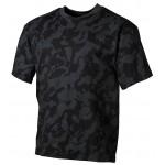 MFH - 00104D US T-Shirt, halbarm, night- camo, 170g/m²