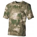MFH - 00104E US T-Shirt, halbarm, HDT-camo FG, 170g/m²