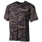 MFH - 00104K US T-Shirt, halbarm, combat camo, 170g/m²