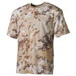 MFH - 00104M US T-Shirt, halbarm, vegetato desert, 170g/m²