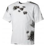 MFH - 00104O US T-Shirt, halbarm, BW winter tarn, 170g/m²