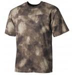 MFH - 00104P US T-Shirt, halbarm, HDT-camo, 170g/m²