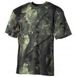 MFH - 00105A US T-Shirt, halbarm, hunter- grün, 170g/m²