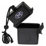MFH - 27167 Box, Kunststoff, wasserdicht, Nackenband, schwarz