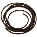 MFH - 28143N Lederband, braun, Länge ca. 1 m