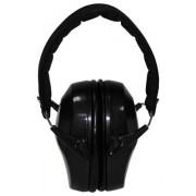 MFH - 28703A Kapselgehörschutz, klappbar, Universal, schwarz