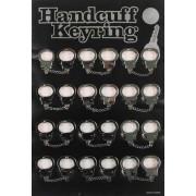 MFH - 29803 Handschellen, silber, Schlüsselanhänger,12 St./Disp.