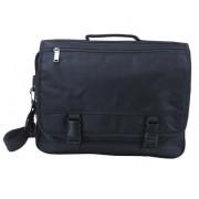 MFH - 30003A Tasche Laptop, schwarz, mit Trageriemen