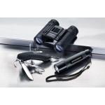UMAREX 2.1119 - Alpina Sport Outdoor Set mit Fernglas Taschenlampe Multifunktionstaschenmesser