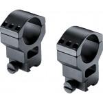 UMAREX 2.1557 - Walther Montage Ringe Base Rings Med 30mm Durchmesser für 11mm-Schiene