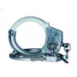 KCI HCF610 Handschelle Kette Nickel 3teiliger Verschluß