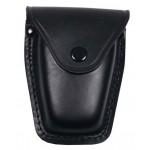 MFH 29643 Handschellentasche Leder schwarz
