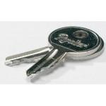 RIVOLIER ID03049 Schlüssel Ersatzschlüssel Zylinderschloß
